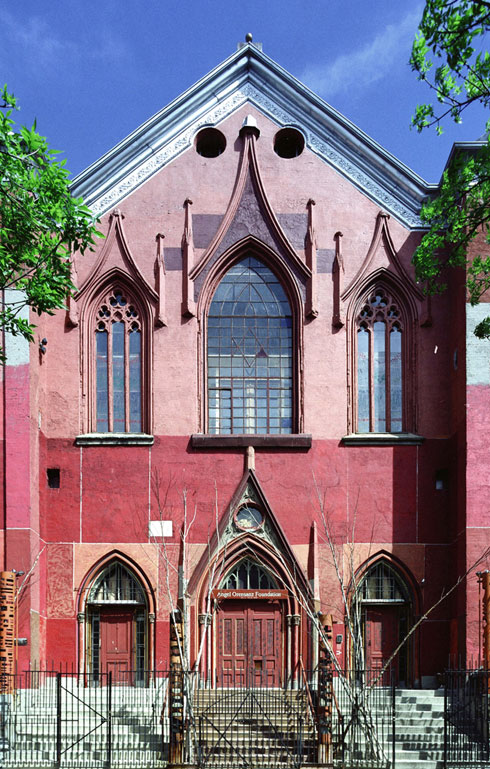 Orensanz Foundation Front