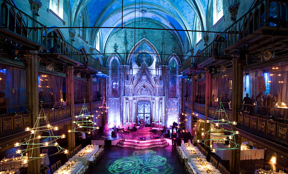Wedding Reception Halls In New York City : Special events at the angel orensanz foundation new york